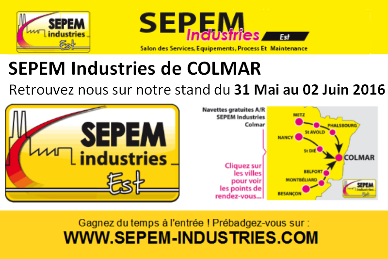 Salon sepem de rouen 2016 for Salon sepem